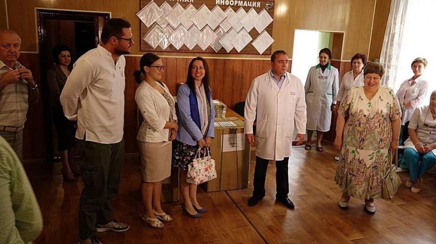 Госпиталю под Мариуполем передали оборудования на 150 тысяч гривен (ФОТО+ВИДЕО), фото-2