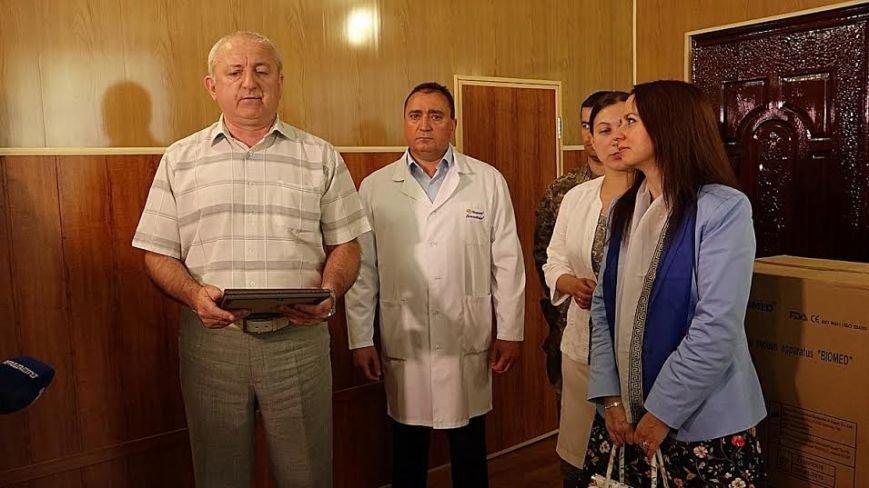 Госпиталю под Мариуполем передали оборудования на 150 тысяч гривен (ФОТО+ВИДЕО), фото-6