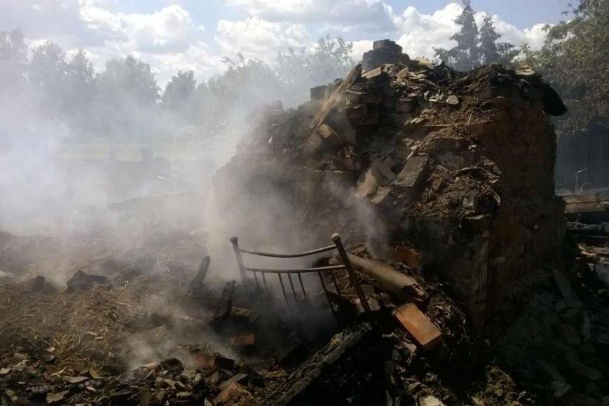 В Черниговской области сын поджег дом своей мамы. От постройки ничего не осталось, фото-2