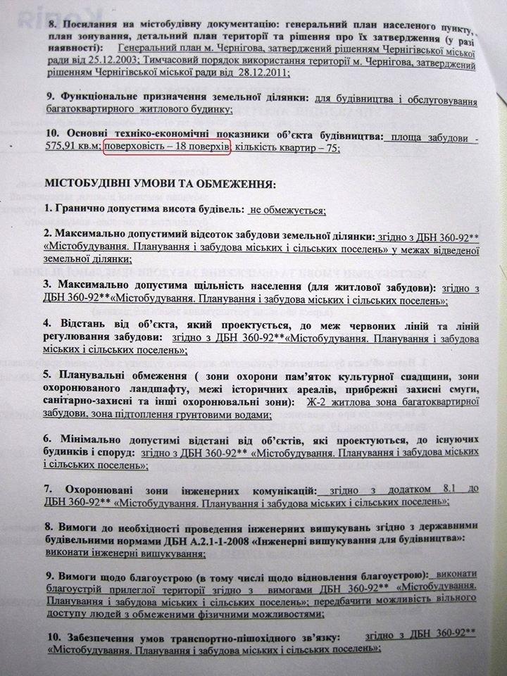 На углу улиц Шевченко и Рокоссовского в Чернигове построят 18-этажку?, фото-2