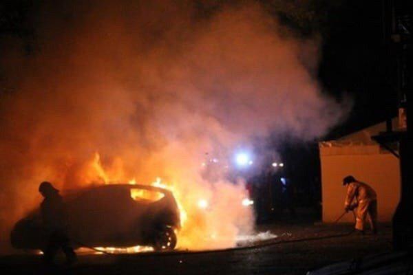 В Черноморске опять сгорел автомобиль (+фото), фото-1