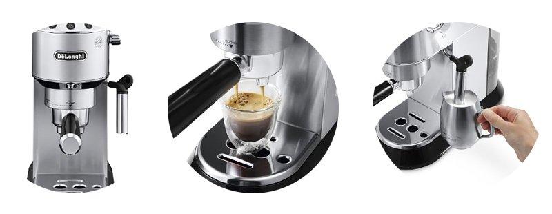 Почему покупатели выбирают кофеварки Dedica от DeLonghi?, фото-2