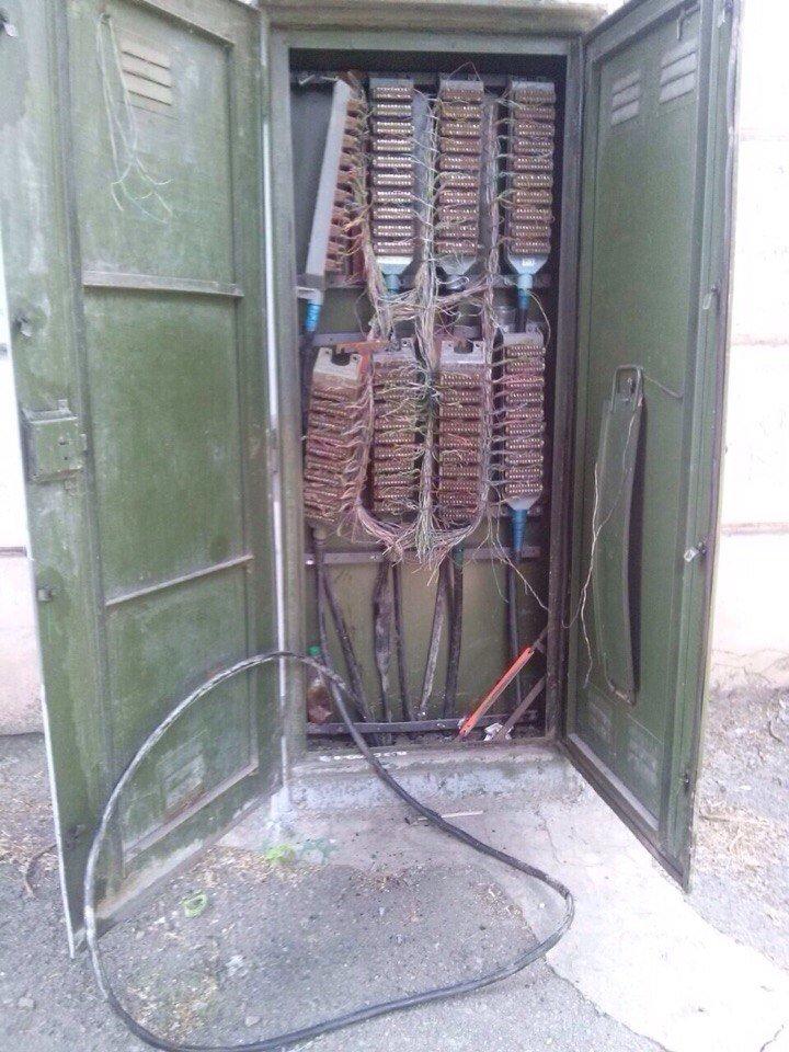 В Каменском средь бела дня воровали телефонные кабели, фото-3