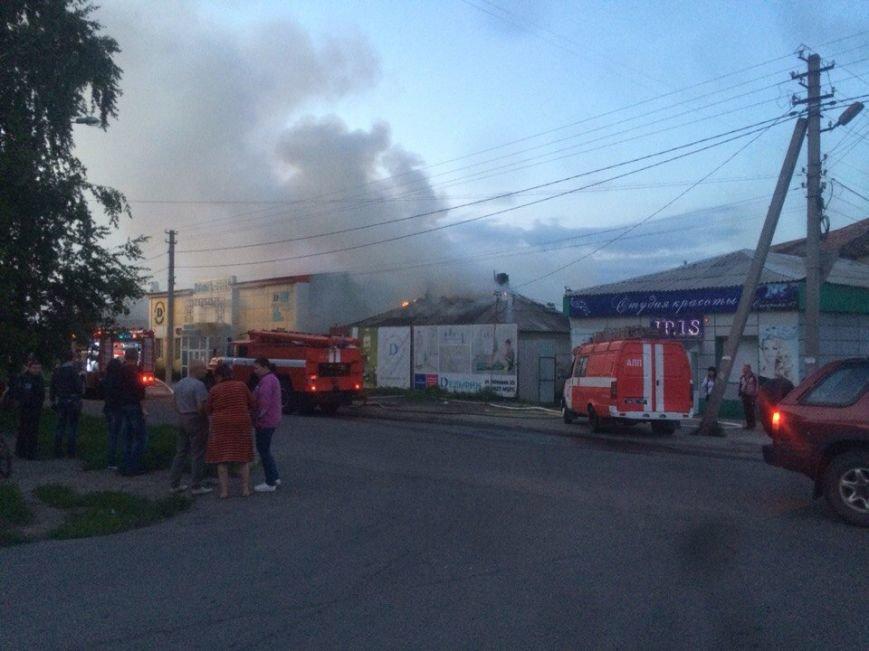 В Бахмуте произошел пожар (ФОТО), фото-1