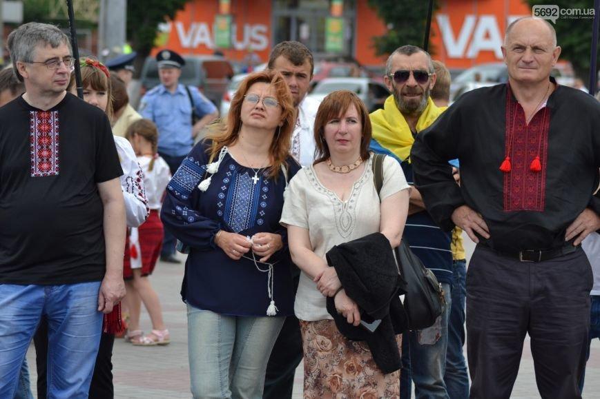 Жители Каменского провели марш за сохранение названия города, фото-13