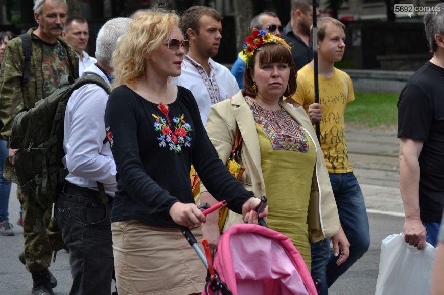 Жители Каменского провели марш за сохранение названия города, фото-6