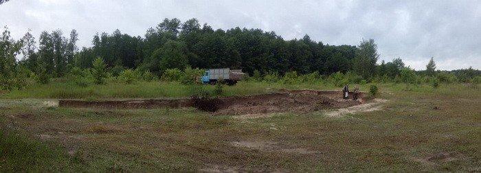 В Черниговской области незаконно вывезли песок и уничтожили 2 гектара леса, фото-6