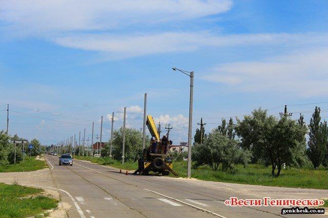 В Генгорке желто-голубые ромашки помогут избежать ДТП (фото), фото-2
