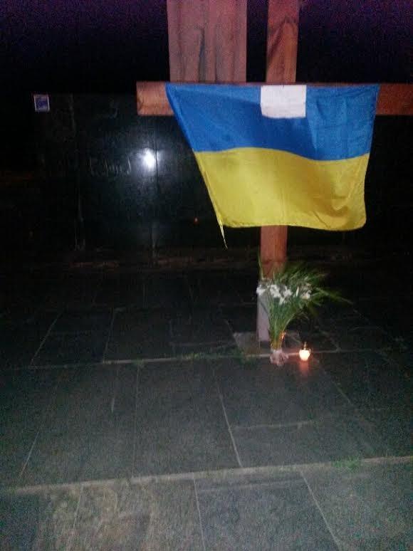 В Мариуполе разгорелся скандал вокруг креста на площади Свободы (ФОТО), фото-1