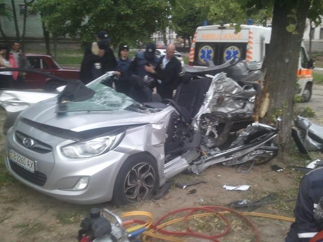 В ДТП на Кольцевой в Чернигове погибло два парня, фото-6