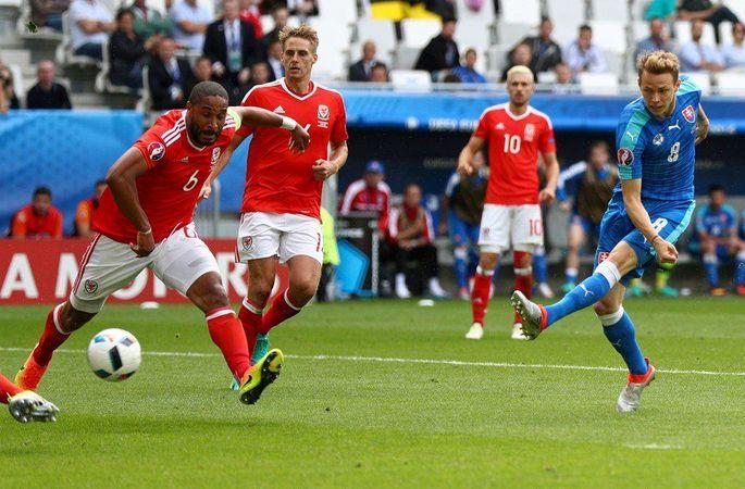 Уэльс - Словакия 2:1 (фото), фото-2