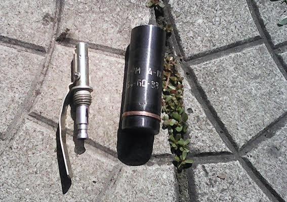 В Мариуполе жители устроили субботник, а нашли гранату (ФОТО), фото-3