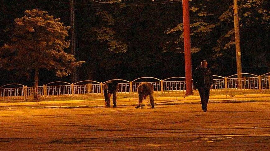 В Мариуполе военные ночью репетировали встречу с Олегом Ляшко и Арсеном Аваковым (ФОТО), фото-8