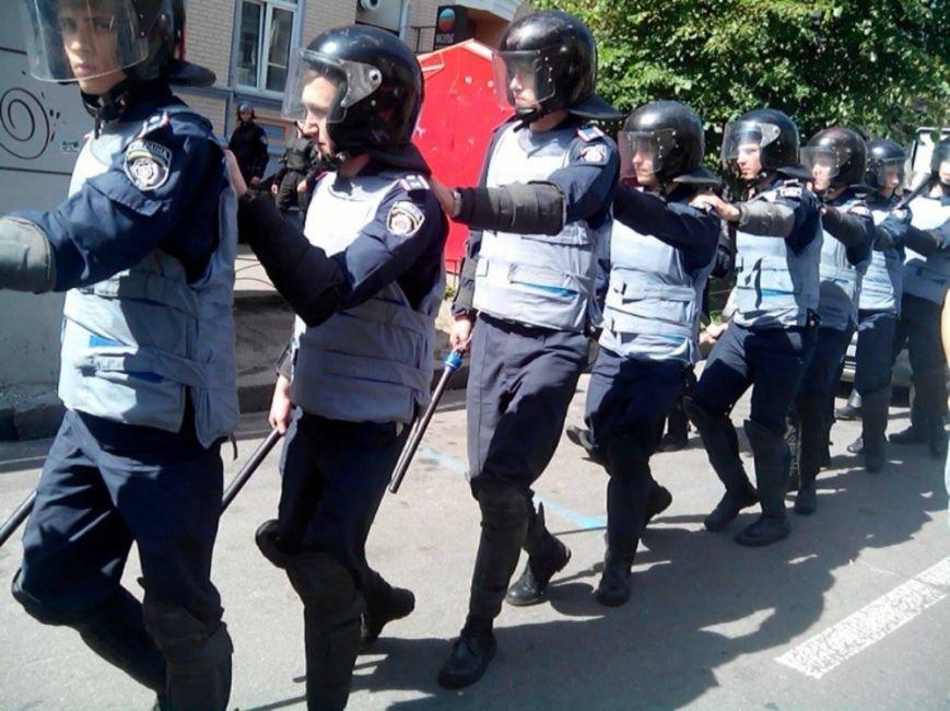 В Киеве начался Марш равенства. Правый сектор поджидает колонну где-то на пути, чтобы заблокировать движение (ФОТО), фото-4