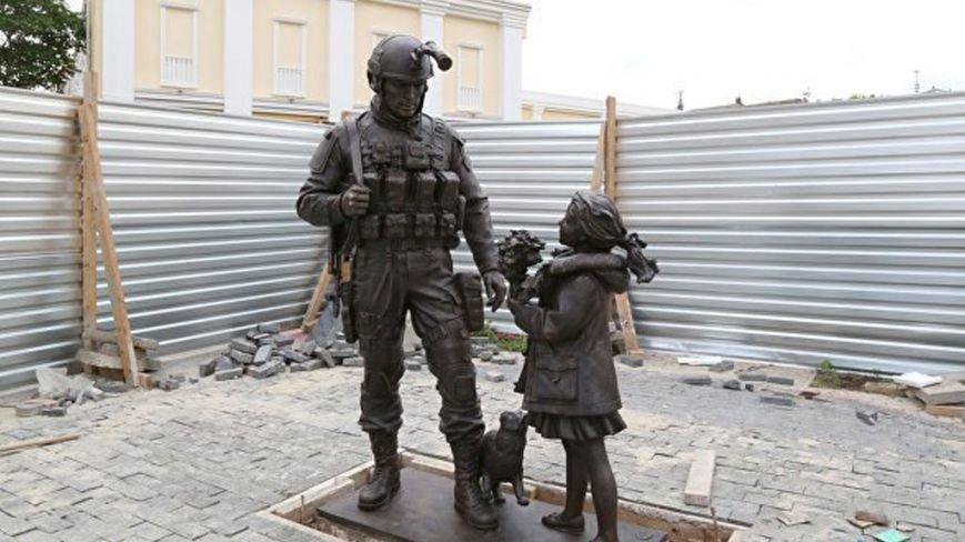 В Криму встановили ще один пам'ятник окупантам, фото-1