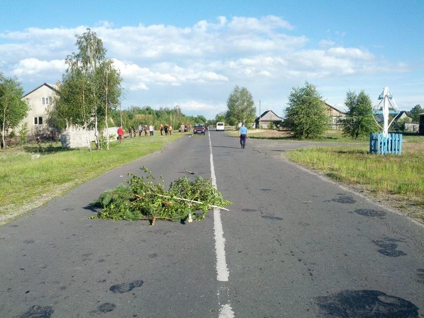 На Рокитнівщині загинув мотоцикліст (ФОТО), фото-1