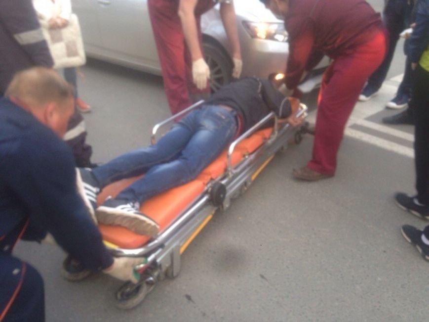 Велосипедист пострадал в ДТП в Южно-Сахалинске, фото-1