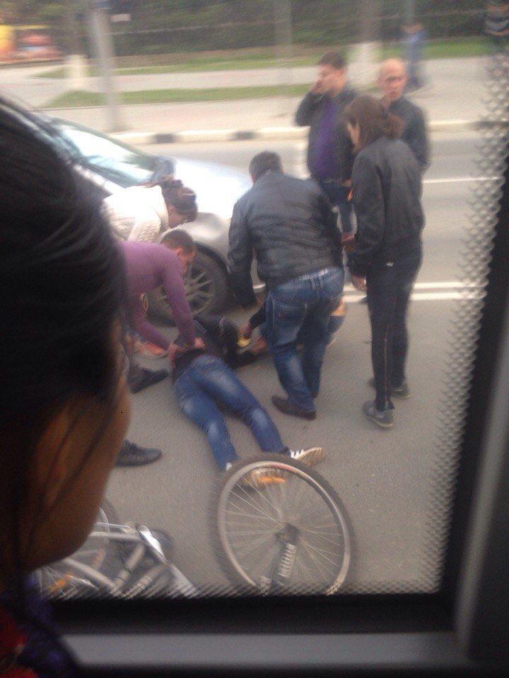 Велосипедист пострадал в ДТП в Южно-Сахалинске, фото-6