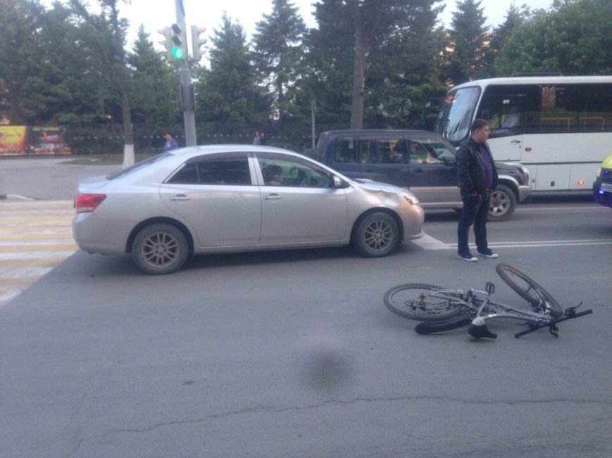 Велосипедист пострадал в ДТП в Южно-Сахалинске, фото-3