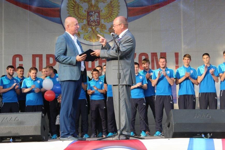 В Симферополе чествовали первого чемпиона крымской Премьер-лиги по футболу (ФОТО), фото-3