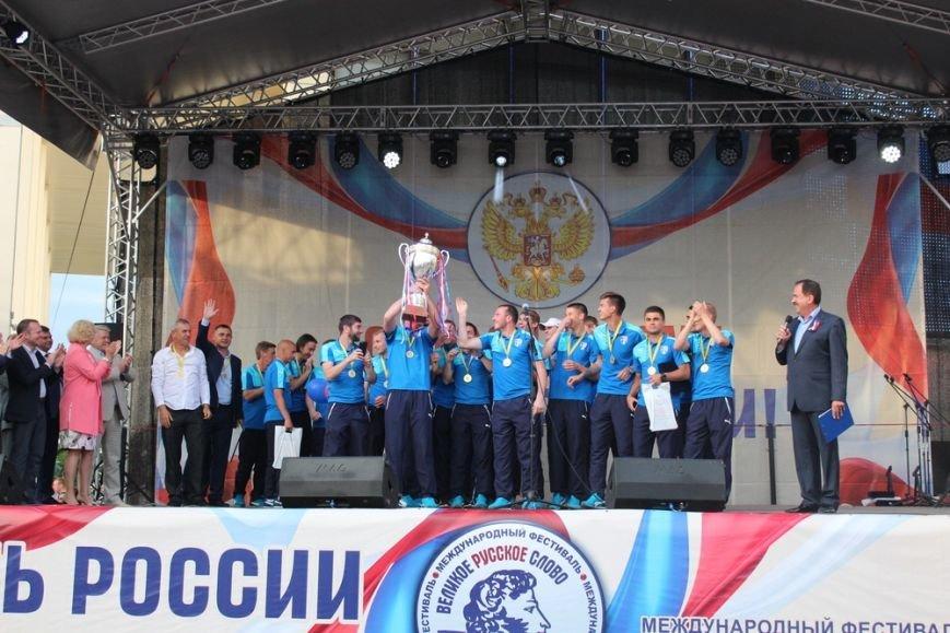 В Симферополе чествовали первого чемпиона крымской Премьер-лиги по футболу (ФОТО), фото-4