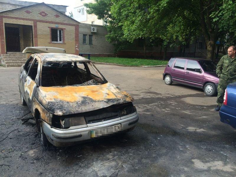 В Дружковке подожгли автомобиль, фото-3