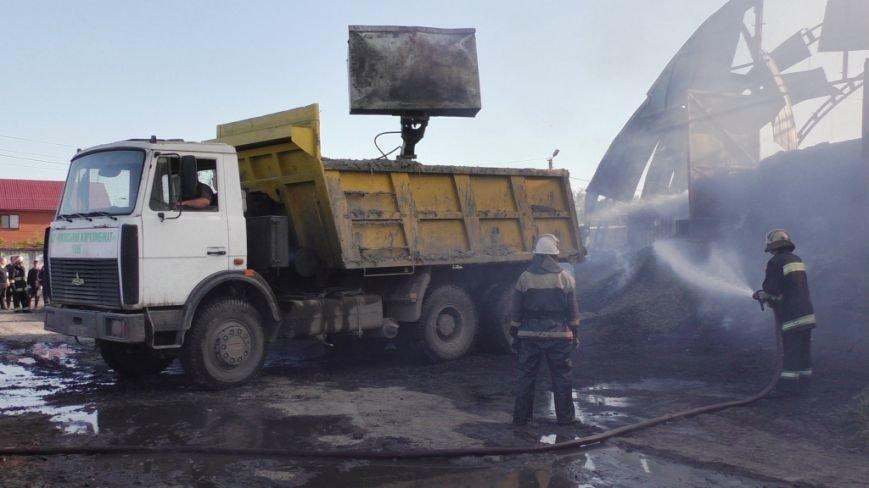 Нежинский жирокомбинат тушило 16 спасателей, фото-7