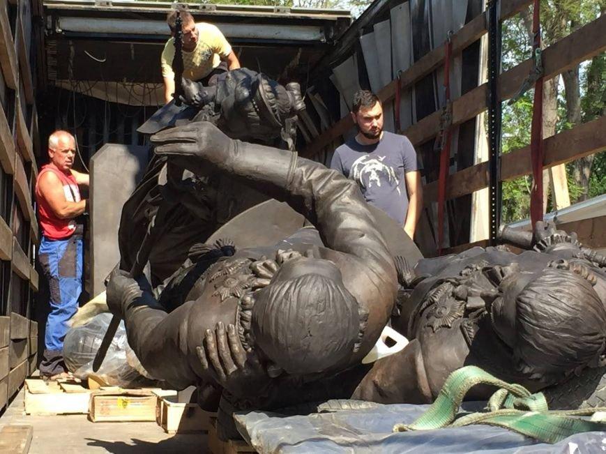 Памятник Екатерине II доставлен в Симферополь (ФОТО), фото-2