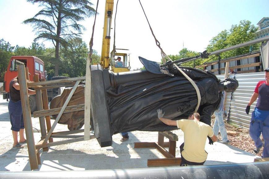 Памятник Екатерине II доставлен в Симферополь (ФОТО), фото-3