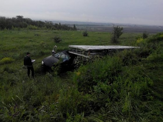 На трассе между Славянском и Краматорском в ДТП погиб сотрудник полиции (ФОТО), фото-1