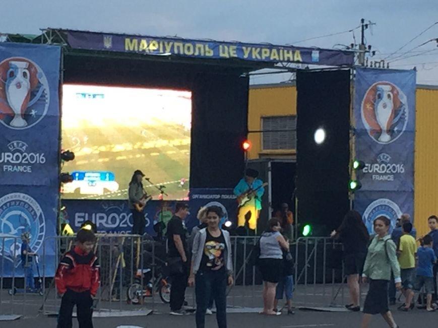Федерация Футбола Мариуполя открыла 12 июня фан-зону на авто-площадке возле Амстора на Кирова!, фото-1