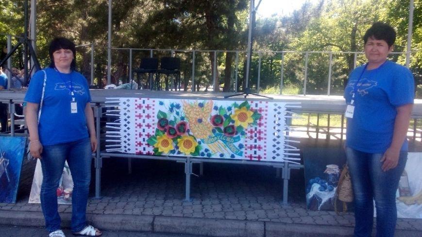 Мастерицы из Добропольского района приняли участие в фестивале «Art-Ukrainе», фото-4