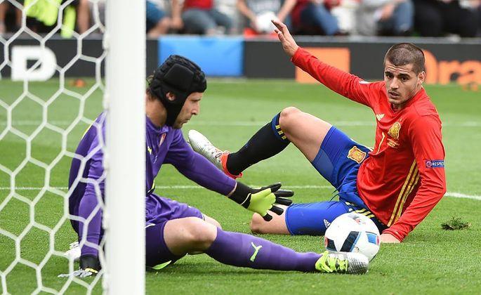 Испания - Чехия 1:0, фото-1