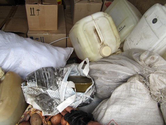 На Константиновском блокпосту задержали волонтеров с боеприпасами, фото-1