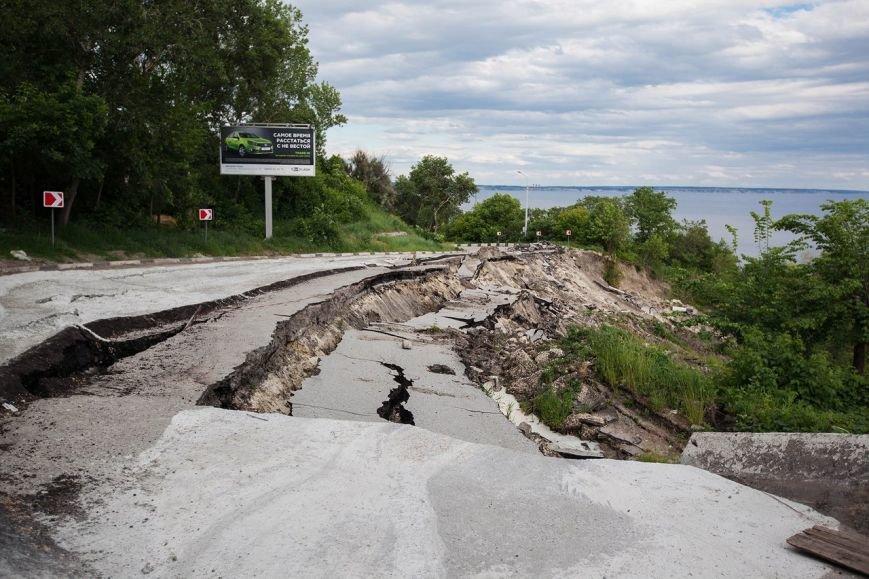 Оползень в Ульяновске продолжает разрушать склон? ФОТО, фото-12