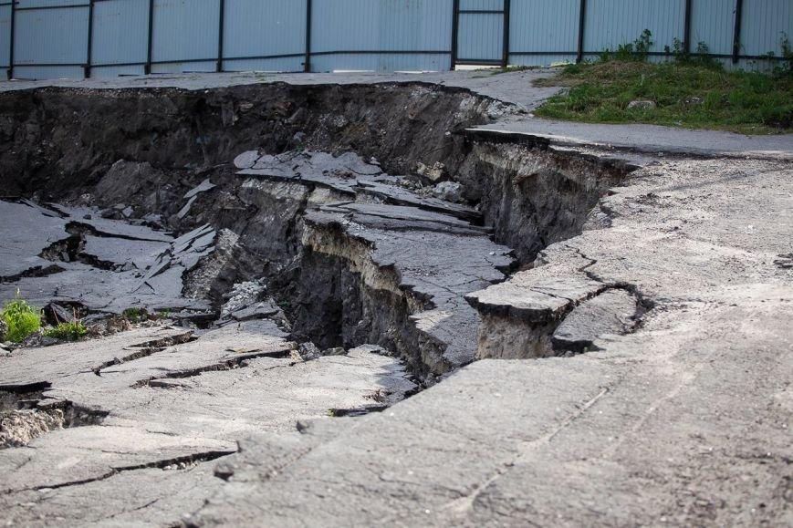 Оползень в Ульяновске продолжает разрушать склон? ФОТО, фото-6