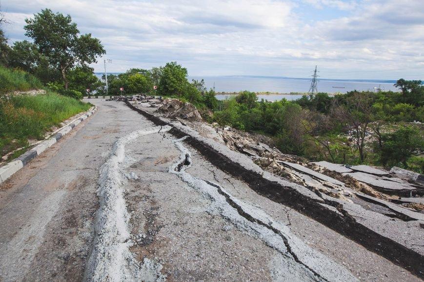 Оползень в Ульяновске продолжает разрушать склон? ФОТО, фото-9