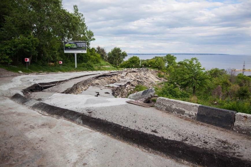Оползень в Ульяновске продолжает разрушать склон? ФОТО, фото-8