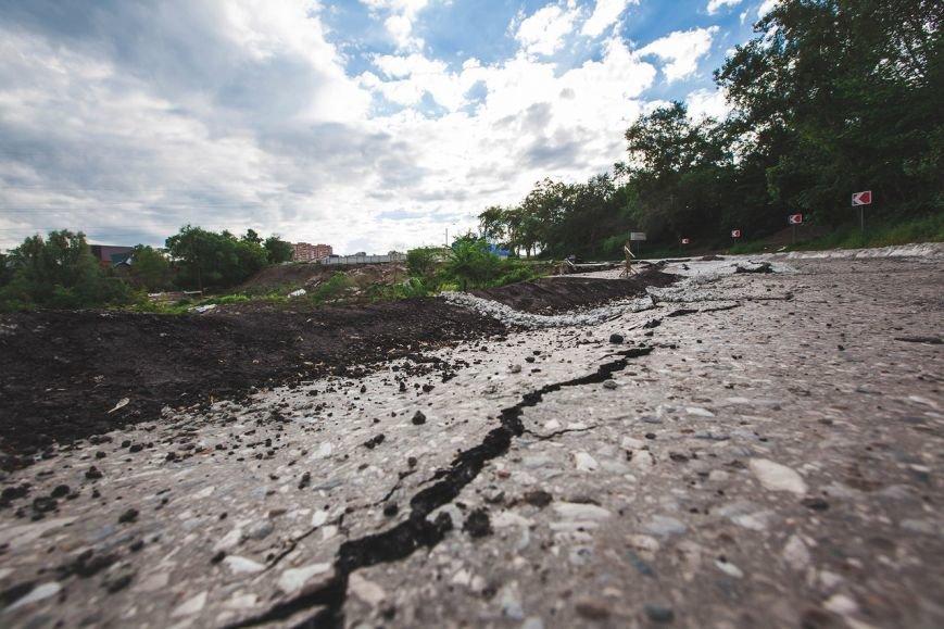Оползень в Ульяновске продолжает разрушать склон? ФОТО, фото-3
