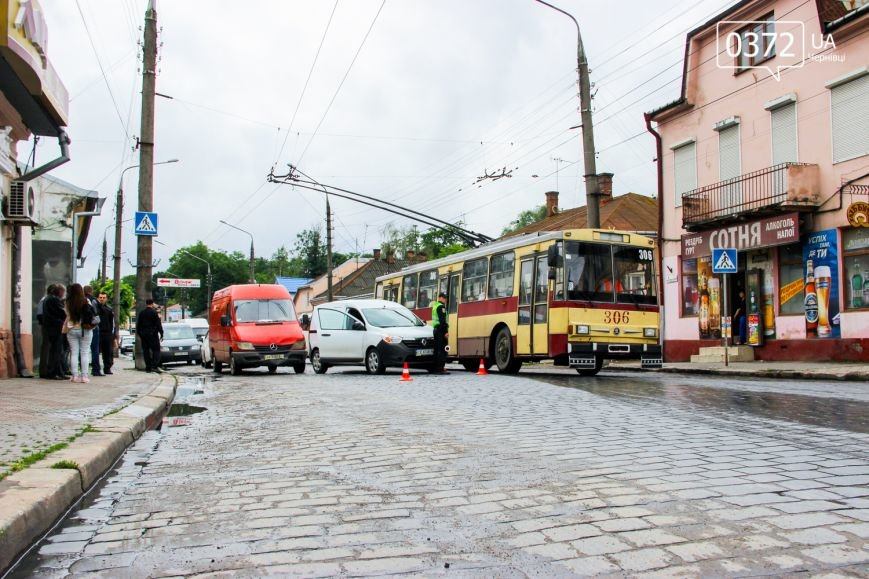 У Чернівцях по вулиці Гагаріна трапилася ДТП, фото-1