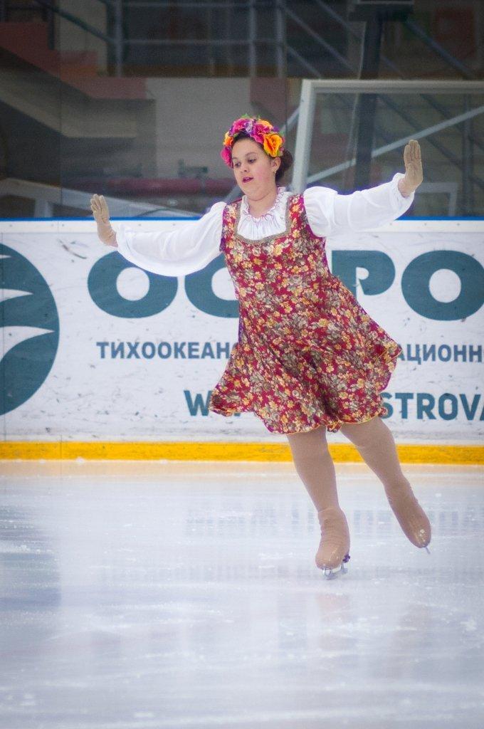 Сахалинские фигуристы-любители завершили сезон соревнованиями в произвольной программе, фото-3