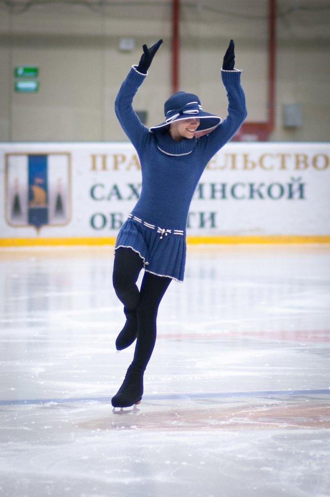 Сахалинские фигуристы-любители завершили сезон соревнованиями в произвольной программе, фото-2