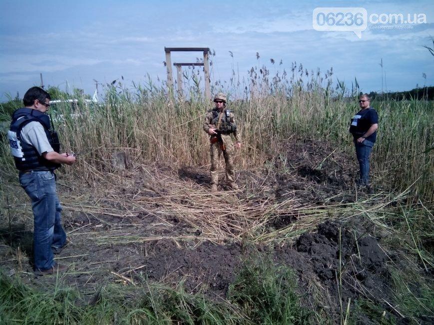 Наблюдательная миссия зафиксировала «прилеты» в опасной близости от Авдеевского КХЗ (ФОТО), фото-1
