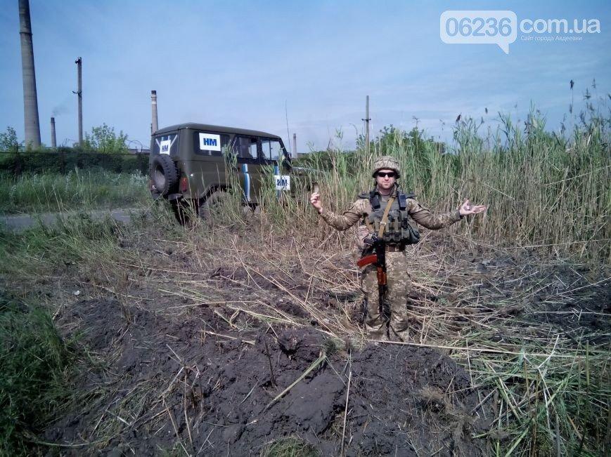 Наблюдательная миссия зафиксировала «прилеты» в опасной близости от Авдеевского КХЗ (ФОТО), фото-2