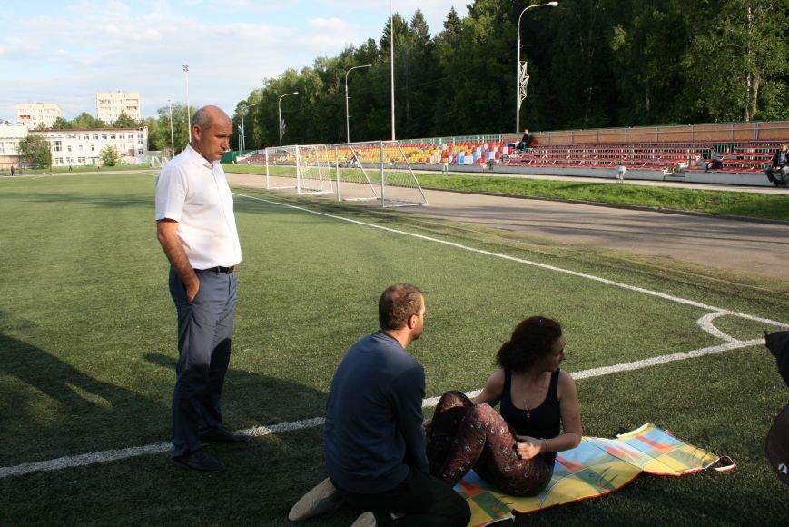 На Троицком стадионе сдавали нормативы ГТО, фото-1