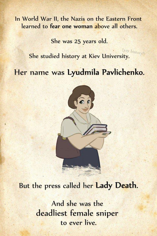 Американець створив комікс про Людмилу Павличенко, фото-1