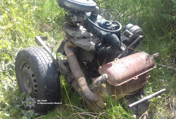 На Сарненщині виявили старателів, у яких вилучили обладнання для  видобутку бурштину (ФОТО), фото-1