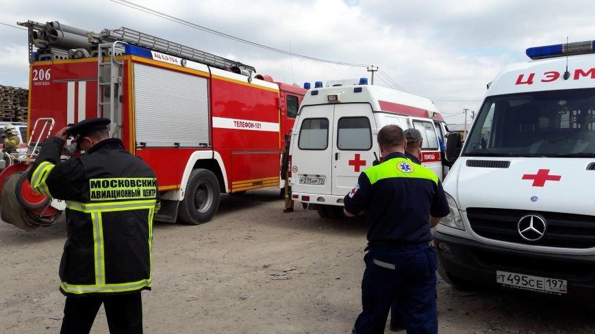 В Сосенках Новой Москвы случился пожар, фото-2
