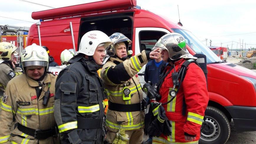 В Сосенках Новой Москвы случился пожар, фото-1