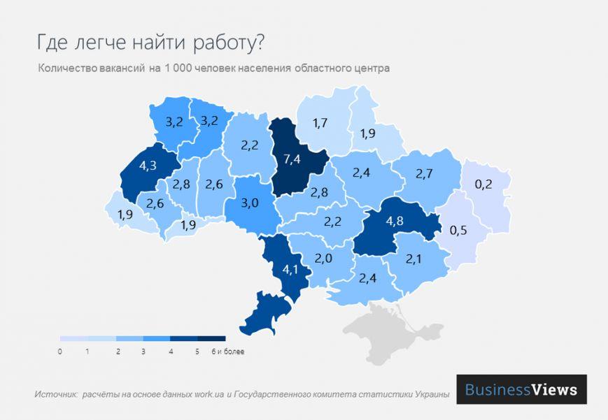 В Чернигове найти работу сложнее, чем в других городах, фото-1